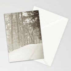 Stopping by a Snowy Woods Stationery Cards