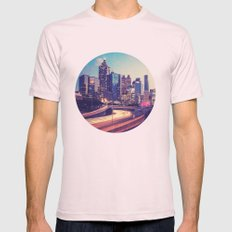 Atlanta Downtown Mens Fitted Tee Light Pink SMALL