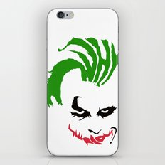 Joker iPhone & iPod Skin