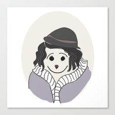Piaf - La vie en Rose Canvas Print