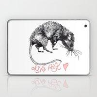 love rat Laptop & iPad Skin