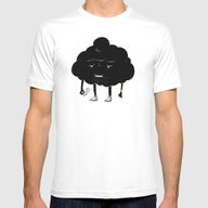 Mr. Optimistic Mens Fitted Tee White SMALL