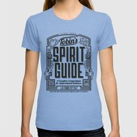 The Ghostbusters Greatest Resource: Tobin's Spirit Guide. Womens Fitted Tee Athletic Blue SMALL