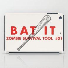 Bat it - Zombie Survival Tools iPad Case