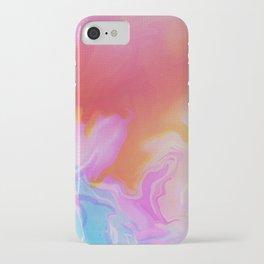 Clear iPhone Case - Glitch 21 - Seamless