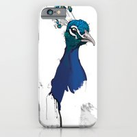 Peacock Head iPhone 6 Slim Case