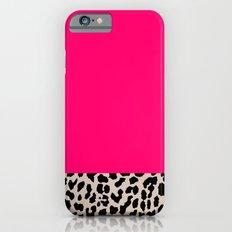 Minimal Leopard Slim Case iPhone 6s