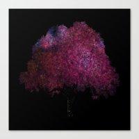 Stellar Tree Canvas Print