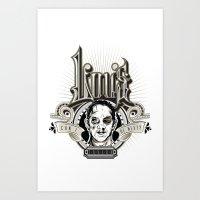 Lou's Tavern  Art Print