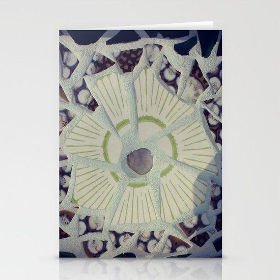 Mosaic Stationery Card