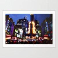 'Times Square NYC ~ BRIG… Art Print