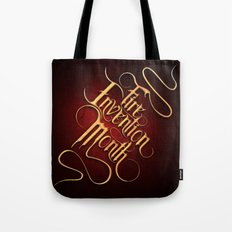Fire Invention Month Tote Bag
