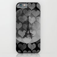 iPhone & iPod Case featuring Paris in Hearts by Stylistic