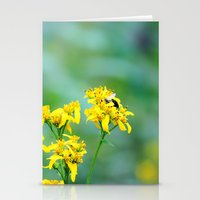 Bee Happy Stationery Cards