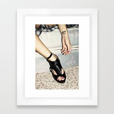 crazy/beautiful Framed Art Print