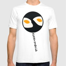 fried eggs SMALL Mens Fitted Tee White