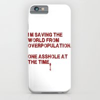 iPhone & iPod Case featuring i can change the world! by i laugh you
