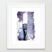 S6  Framed Art Print
