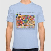 The Periodic Table of the Muppets Mens Fitted Tee Tri-Blue SMALL