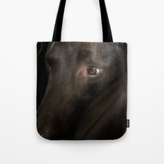 My Friend Chocolate Lab Tote Bag