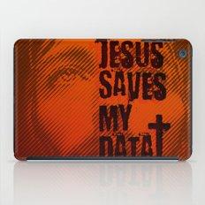 Jesus saves my data iPad Case