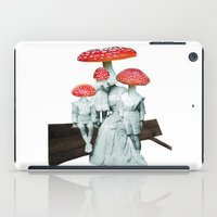 amanita muscaria with children iPad Case