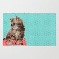 Messy Lil Cat Rug