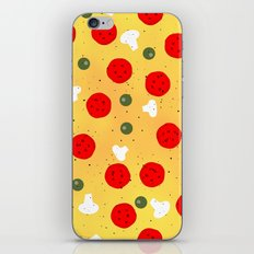 Cool and fun vector pizza iPhone & iPod Skin