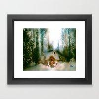 HOBBIT HOUSE Framed Art Print
