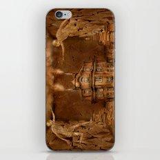 Papierheizer iPhone & iPod Skin
