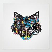 The Creative Cat (Alt. C… Canvas Print