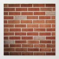 Brick Canvas Print
