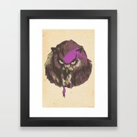 Color Burst #2 Framed Art Print