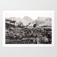 Greenland No.1 Art Print