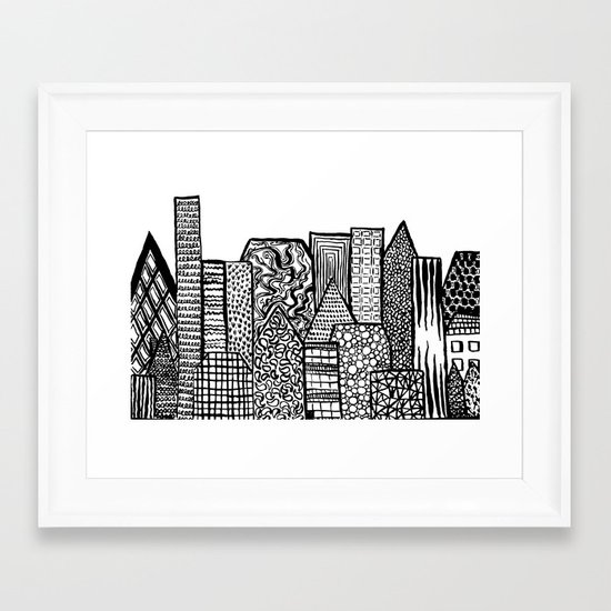 Where Are You Today? Framed Art Print