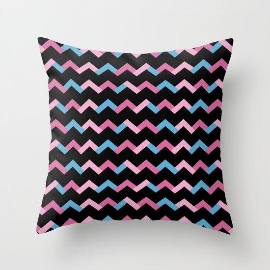 Geometric Chevron Throw Pillow