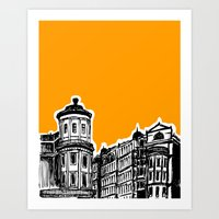 King William IV Street Art Print