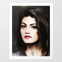 Phoebe Tonkin 2 Art Print