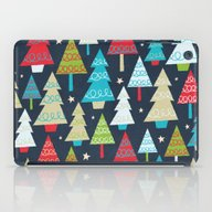 Christmas Trees iPad Case
