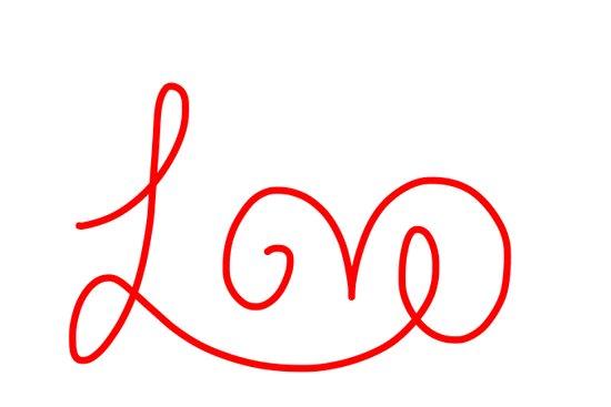 Valentine Love Art Print