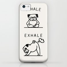 Inhale Exhale Pug iPhone 5c Slim Case