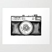 Lomo Smena 8M Russian Ca… Art Print