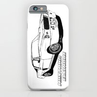 Mustang Elsinore line drawing iPhone 6 Slim Case