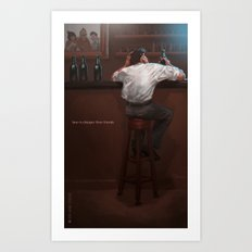 Beer… Art Print