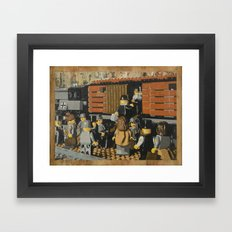 Deportation from Warsaw to Treblinka, July 22, 1942 Framed Art Print