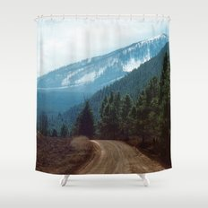 they're coming down Shower Curtain