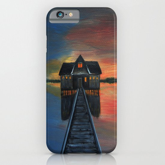 Old boat house  iPhone & iPod Case