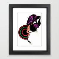 Diana In Love Framed Art Print
