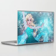 Frozen Elsa Laptop & iPad Skin