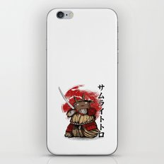 Totosamurai iPhone & iPod Skin
